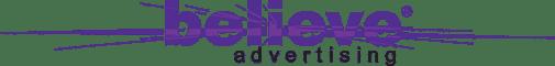 Believe Advertising Header